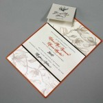 Layered Wedding Invitation