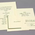 Classic Wedding Invitiation