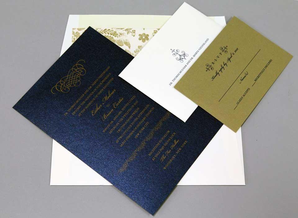 Wedding Invitations Of New York Long Island Plandome Paperie