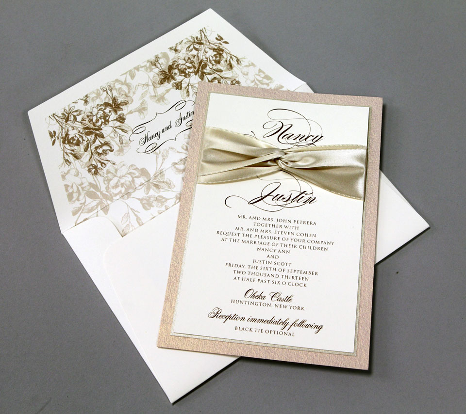Wedding Invitations of New York & Long Island | Plandome Paperie