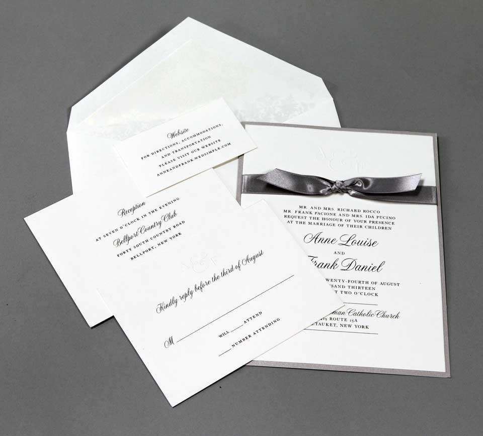 Invitation Gallery | Plandome Paperie