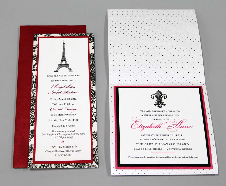 Sweet 17 Invitation was awesome invitations layout