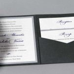 Pocket Wedding Invititation