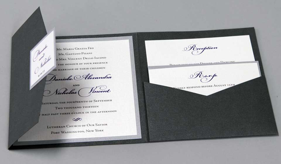 Wedding Invitations Of New York Long Island Plandome Paperie